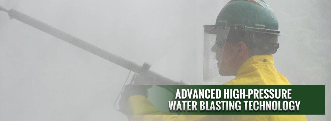 WATER BLASTING